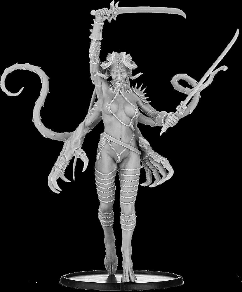 Miniatures - Courtesan of Cibaresh - Daemon Legions (DL