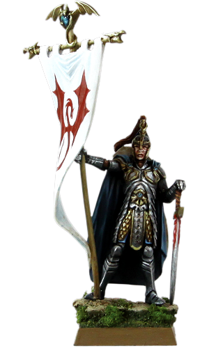 Alassar, Bearer of the Dragon Standard