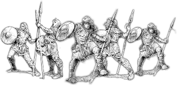 Youths of Stæford, Ḡeoguth Unit (5x warriors)