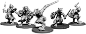 Eoric's Pack, Werwulf Unit (5x warriors)
