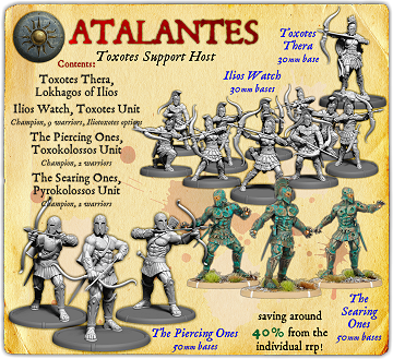 Atalantes Toxotes Support Starter Host