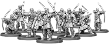 Archers of Dyngonwy, Saethwr Unit (10x warriors)