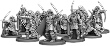 Hunters of Dyngonwy, Helwr Unit (10x warriors)