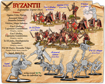 Byzantii (Legio II Var) Battle Host