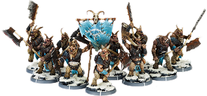 Baagath's Herd, Gabrax Unit (10x warriors w cmd)