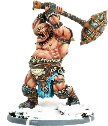 Aalric, Great Club Ograx Reiver Warrior