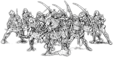 Bowmen of Cantwarebarg, Jutboḡa Unit (10x Bowmen w cmd)