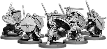 Hrafnen Crew, Holumann Unit (10x warriors)