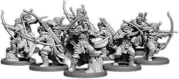 Hrafnen Bowmen, Holumann Bowman Unit (10x warriors w cmd)