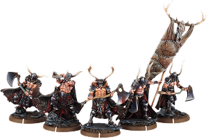 Axes of Carn Maen, Ax-Drune Unit (5x warriors w cmd)