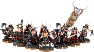 Axes of Carn Maen, Ax-Drune Unit (10x warriors w cmd)