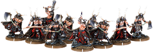 Axes of Carn Maen, Ax-Drune Unit (10x warriors)