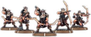 Bows of Carn Dinas, Bow-Drune Unit (5x warriors)