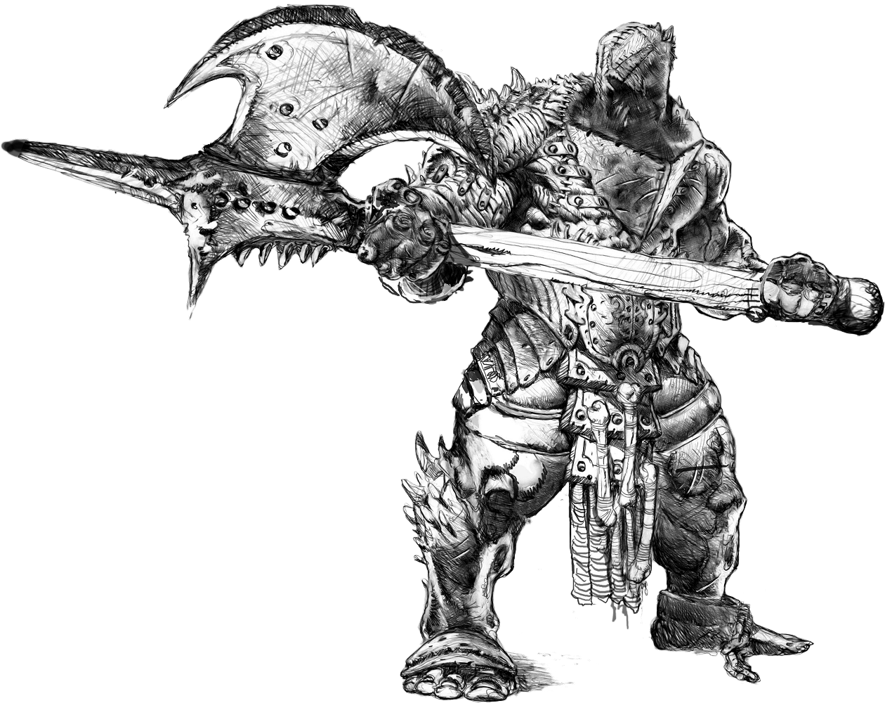 Miniatures Giant Orcs And Goblins Ong The 9th Age