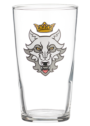 Mierce Miniatures Wulf Pint Glass (568ml)