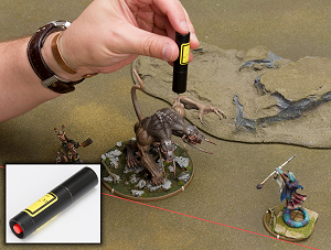 Mierce Miniatures Positioning Laser